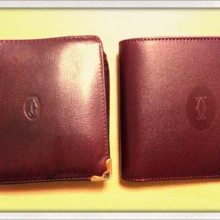 誕生日なのでカルティエの財布を買いました