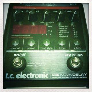 サウンドハウスの落とし穴。TC Electronicの製品は修理に出せない