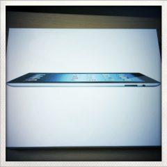 新しいiPad(第三世代)を買いました!RetinaディスプレイになったiPadはすごすぎ!