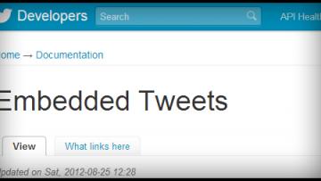 ブログにツイートをそのまま貼りつけて紹介する方法