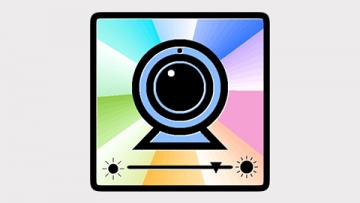 MacでWEBカメラのホワイトバランスなどを設定できる「Webカメラ設定」が超便利!