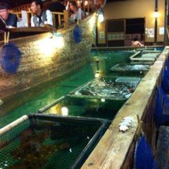 釣堀で釣りが楽しめる居酒屋「ざうお」に行ってきました